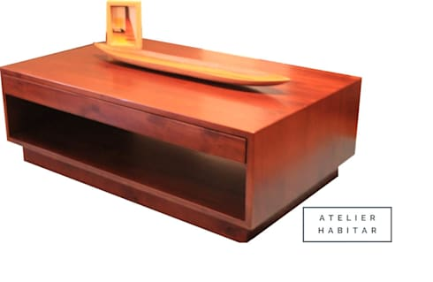 Mesa 04: Salones de estilo  por ATELIER HABITAR