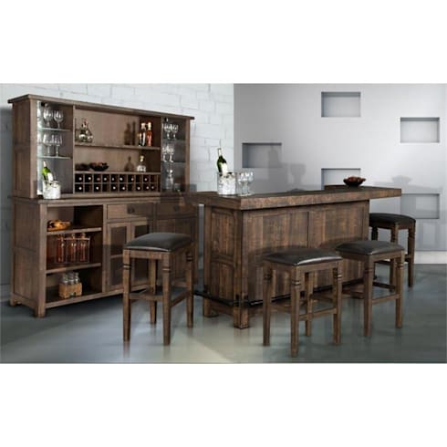 Let Your Guests Relax & Socialize With Portable Home and Wine Bars: modern Wine cellar by Perfect Home Bars