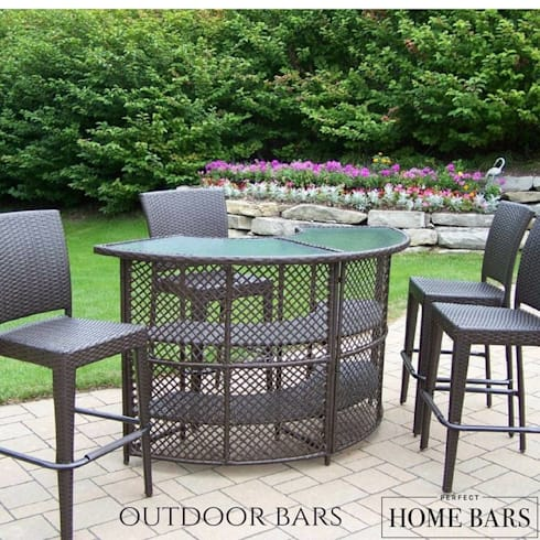 Let Your Guests Relax & Socialize With Portable Home and Wine Bars:  Garden  by Perfect Home Bars