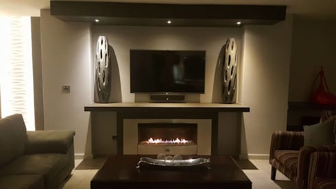 modern Living room by The Guys - enhance your space, enhance your life!