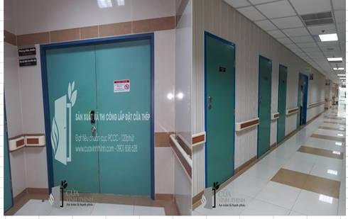 cửa thép chống cháy:   by Vĩnh Thịnh
