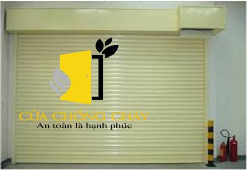 cửa cuốn chống cháy:   by Vĩnh Thịnh