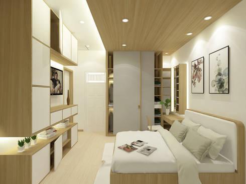 Mr. Adrian's Bedroom:  Kamar Tidur by SEKALA Studio