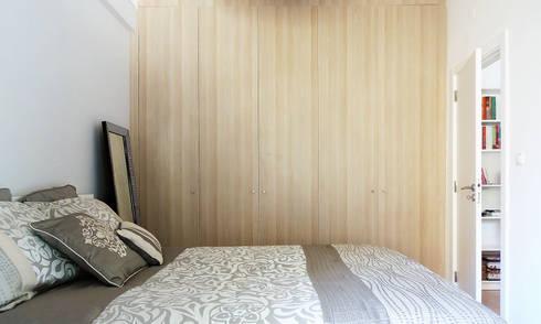 Casa da Rute: Quartos escandinavos por Homestories
