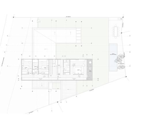 Casa Chamisero: Dormitorios de estilo moderno por BMAA