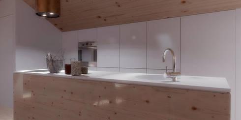 O sótão da família Oliveira: Cozinhas escandinavas por Homestories