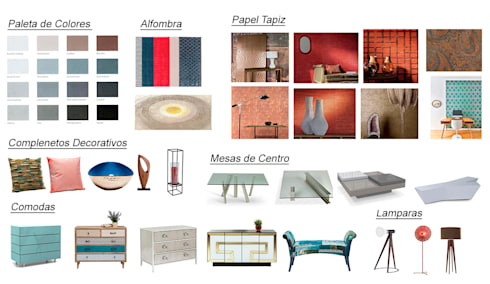 MATERIALES.: Arte de estilo  por ESTUDIO KULUMAK