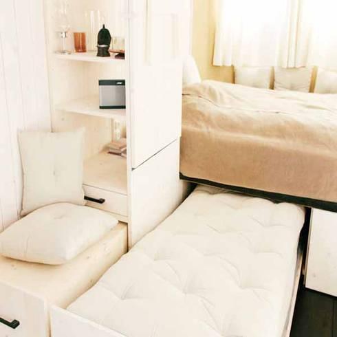 Giường ngủ thông minh:  Phòng ngủ by Nội thất thông minh giường