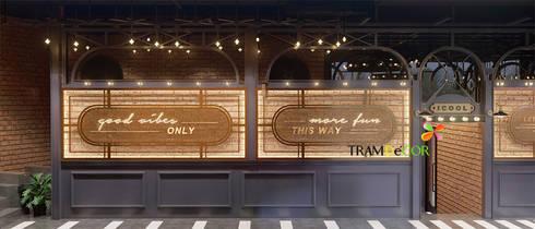 """""""Karaoke I.COOL"""" Thiết kế sáng tạo không thể bỏ qua:  Quán bar & club by Công ty Thiết kế Nội Thất Tramdecor"""