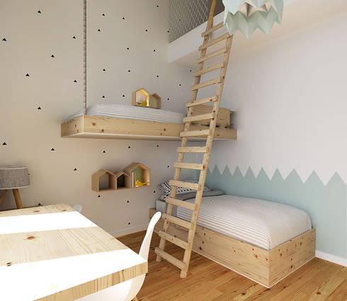 QUARTO DO AFONSO E DO ZÉ: Quartos de criança escandinavos por Homestories