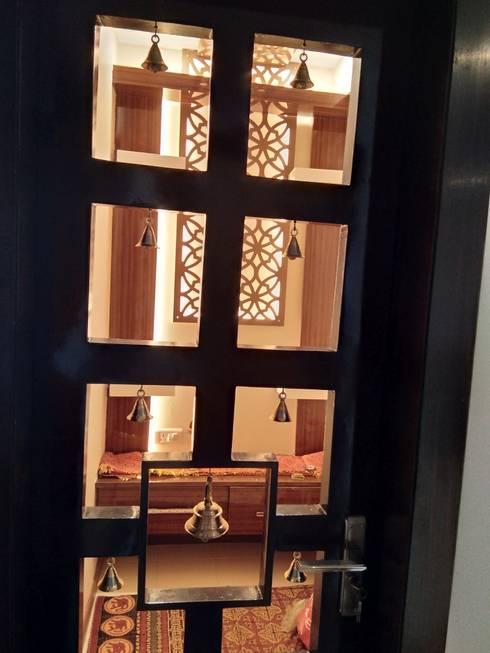 Wooden doors by V-Serve Design & PMC