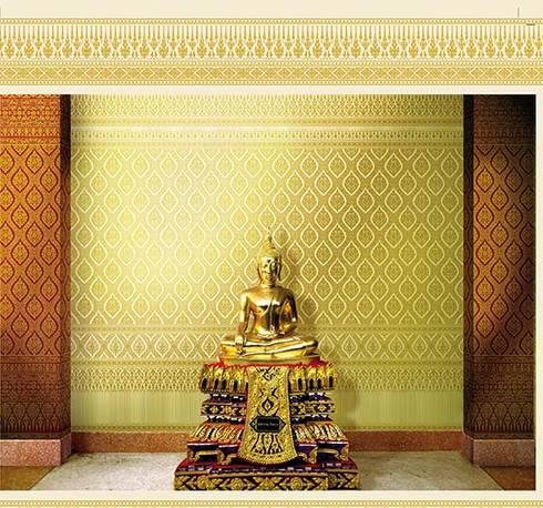 Sukhothai:  ตกแต่งภายใน by MD Wallpaper