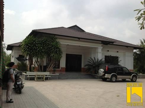 Biệt thự :  Nhà by CÔNG TY TNHH KT - XD KIẾN NGUYỄN