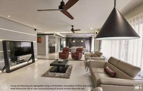 living area : modern Living room by Design Paradigm