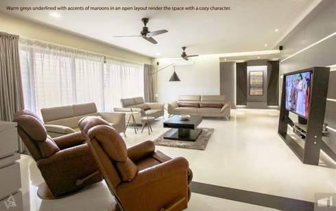 living room: modern Living room by Design Paradigm