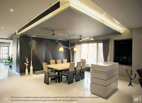 dining space: modern Dining room by Design Paradigm