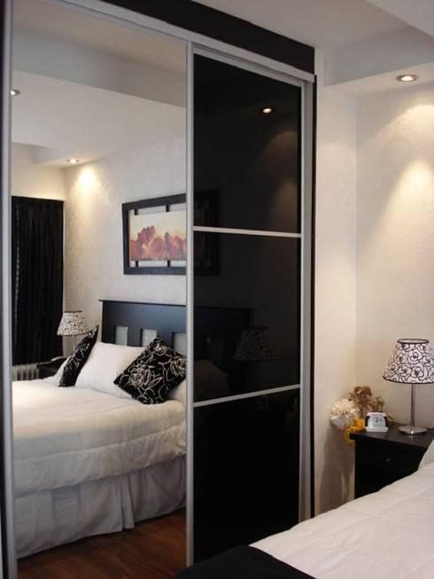Ampliación Dormitorio Patricia: Dormitorios de estilo moderno por Construye Tu Proyecto