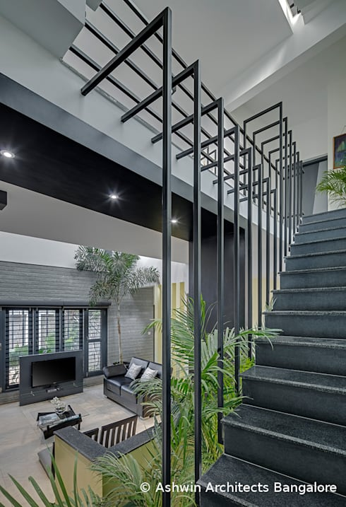 Staircase:  Stairs by M/S Ashwin Architects