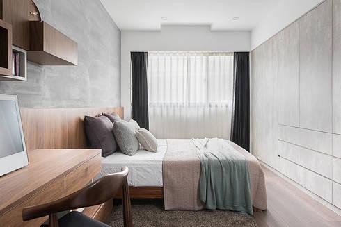 生活尺度:  臥室 by 知域設計