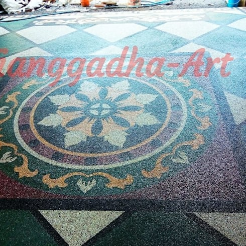 Tukang Ampyangan batu Coral sikat:   by Tukang Taman Surabaya - Tianggadha-art