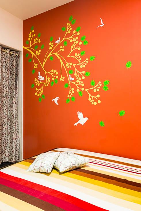 kandivili residence: modern Bedroom by Rennovate Home Solutions pvt ltd