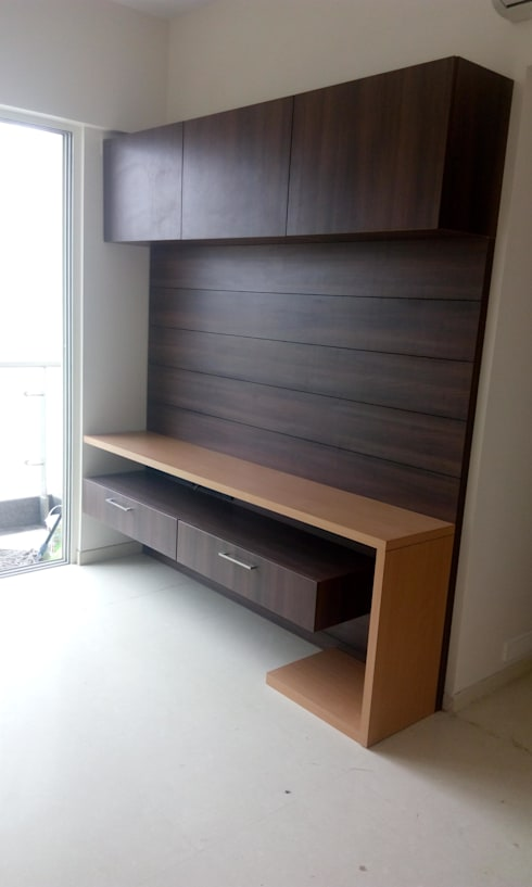 kanjurmarg Furniture: modern Living room by Rennovate Home Solutions pvt ltd