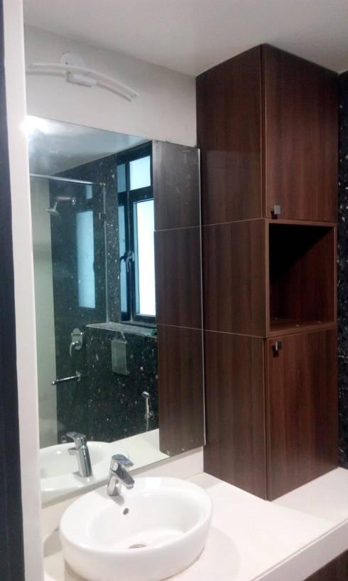 kanjurmarg Furniture: modern Bathroom by Rennovate Home Solutions pvt ltd