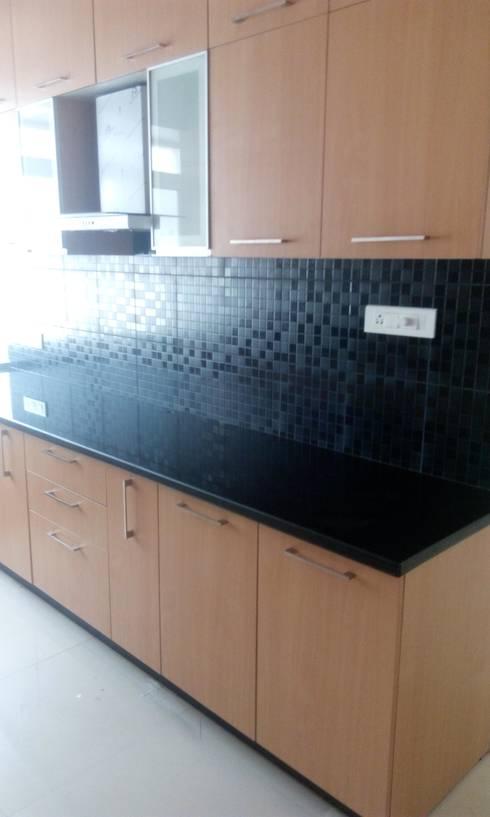 kanjurmarg Furniture: modern Kitchen by Rennovate Home Solutions pvt ltd