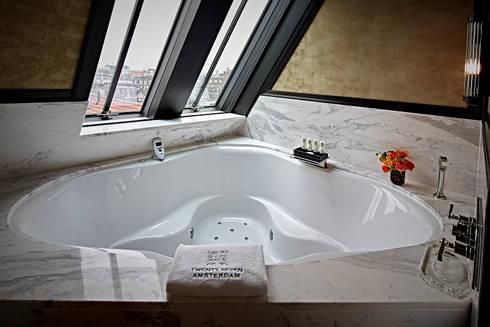 Luxe Cleopatra whirlpools en stoomcabine in Hotel 27 in Amsterdam by ...