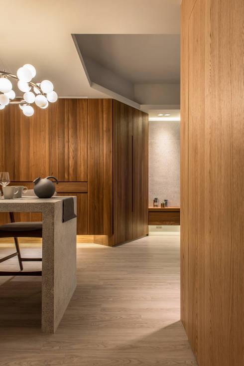 Dining area / storage:  餐廳 by 湜湜空間設計