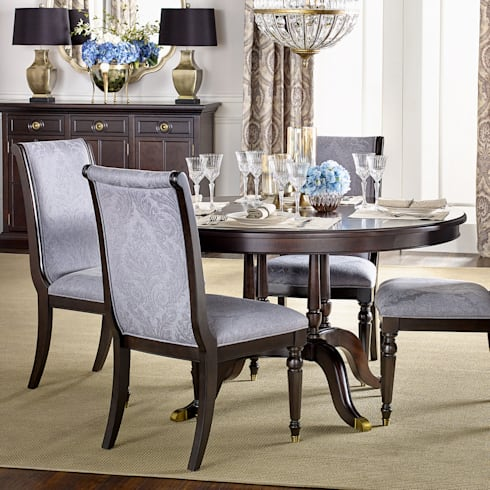 Chandler Dining Table: classic Dining room by Bombay Canada