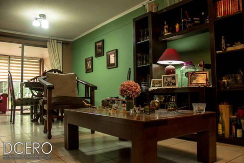 Casa habitacion Cerrillo 114m2: Comedores de estilo clásico por Dcero Arquitectura