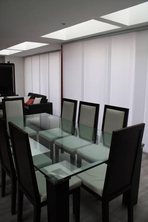 Comedor: Comedores de estilo moderno por RIVAL Arquitectos  S.A.S.