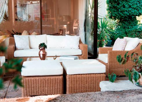 Po: Balcones y terrazas de estilo  por Afuera Diseño