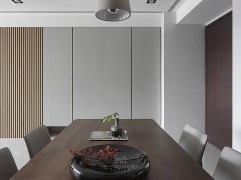雙橡園Y宅:  餐廳 by Ho.space design 和薪室內裝修設計有限公司