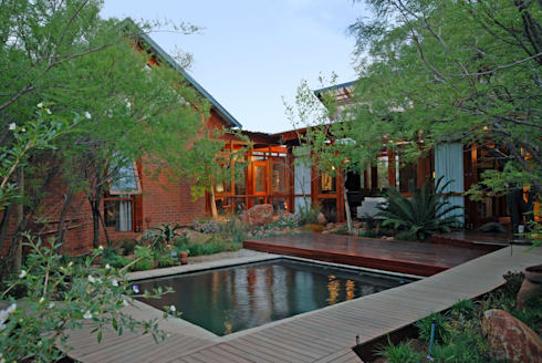 Pool:  Garden Pool by Hugo Hamity Architects
