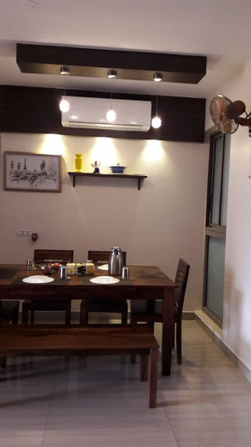 Ghatkopar residence: modern Dining room by Rennovate Home Solutions pvt ltd
