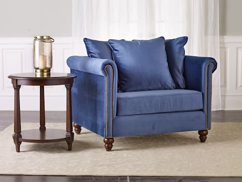 Salibury Chair & 1/2: classic Living room by Bombay Canada