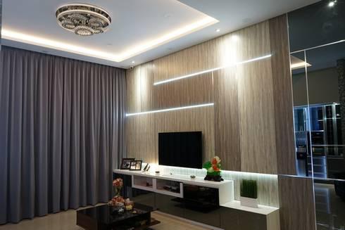 Livingroom:  Living room by Cendana Living