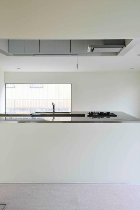 House for O: kurosawa kawara-tenが手掛けたシステムキッチンです。