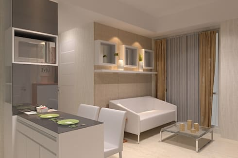 living room:  Living room by Cendana Living
