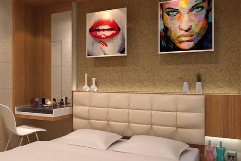 Bedroom:  Bedroom by Cendana Living