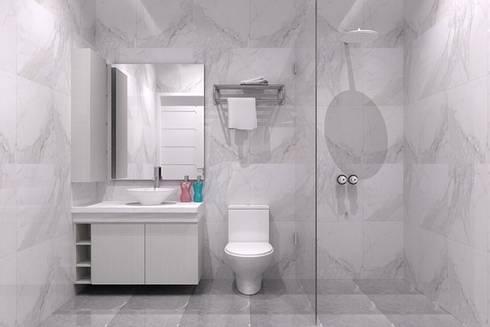 area washtafel:  Bathroom by Cendana Living