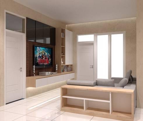 Living room 2nd floor:  Living room by Cendana Living
