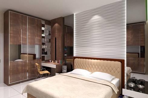 masterbedroom:  Bedroom by Cendana Living