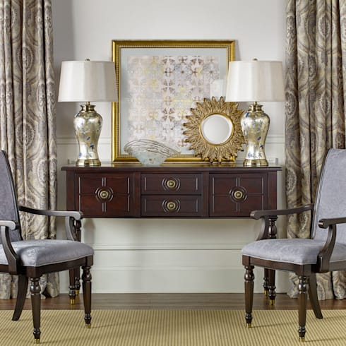 Chandler Buffet: classic Dining room by Bombay Canada