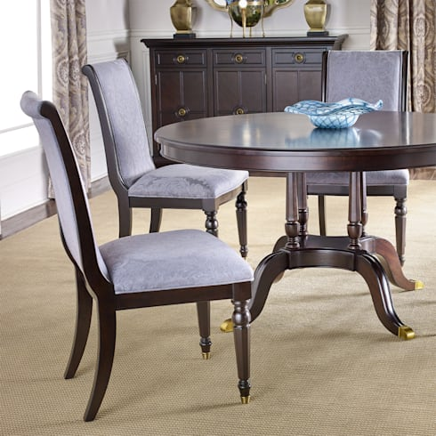 Chandler Dining Chair: classic Dining room by Bombay Canada