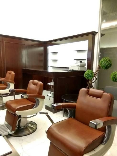 Paxi BarberShop:  Kantor & toko by Gaiyuu Jaya Abadi