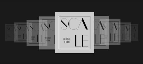 Logo de Empresa:  de estilo  por Scale Interior Design