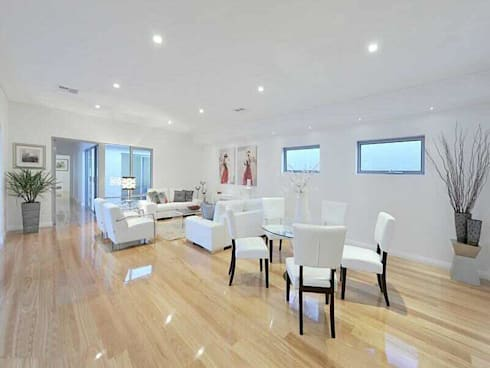 Wembley units: modern Living room by Marzia Design